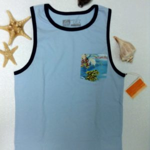 ALVIN'S ISLAND Men Surf brand tees Item # 201390