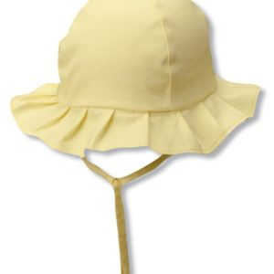 KIDS -COTTON RUFFLE BUCKET STRAP