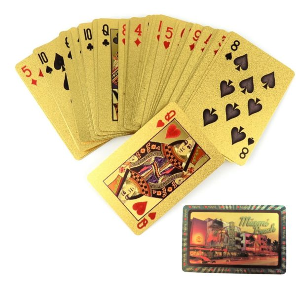Gold Playing Cards   Poker Cards
