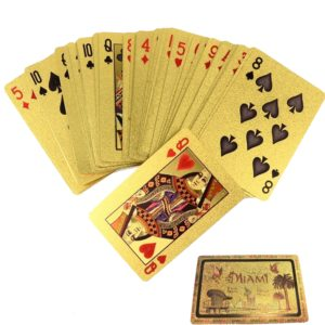 Gold Playing Cards | Poker Cards