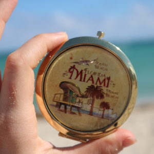 Florida Miami Pocket Mirror