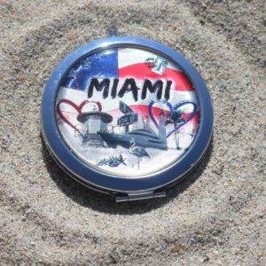 Miami Love USA Pocket Mirror
