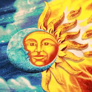 Sun-Moon Beach Towel
