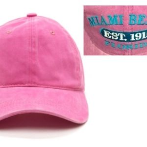 Miami Beach Souvenir Hat