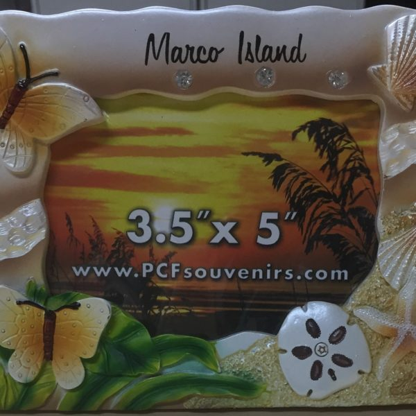 Picture Frame | Marco Island Souvenirs | Pic Frame Marco Island