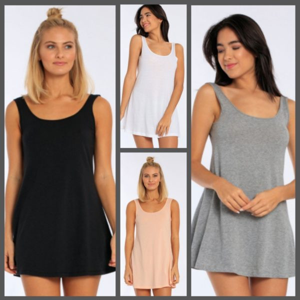 Women's Tank Swing Dress
