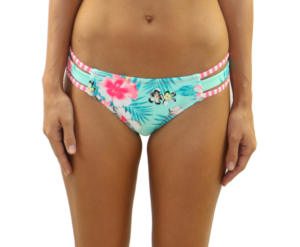Strappy Side Bottom Floral