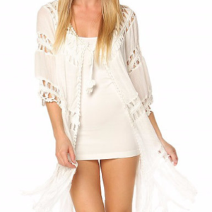 Crochet Long Open CoverUp