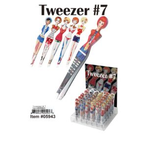 Women Shaped Tweezers