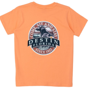 Come Sit Stay Destin Florida Dog Shirt