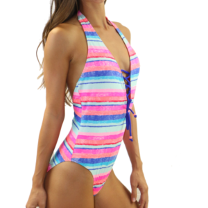 Tie Front One Piece Sunseek
