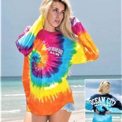 Tie Dyed Long Sleeve T-Shirt