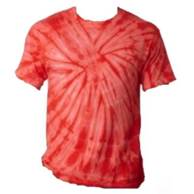 Orange South Beach Tie Dye Kids T-shirt