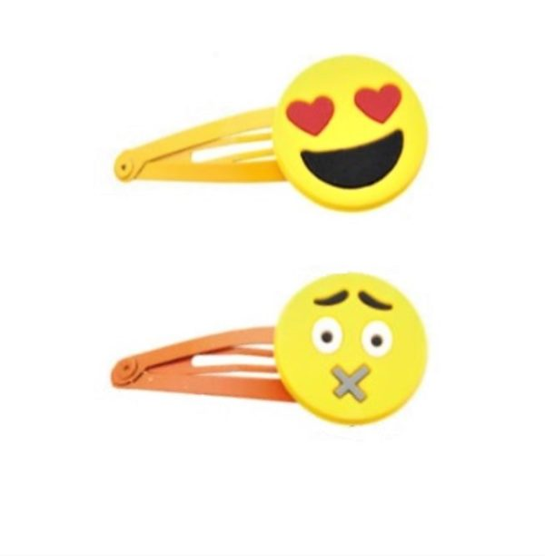 Emotional Hair Clips