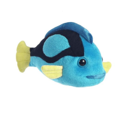 Mini Flopsies Blue Tang Fish