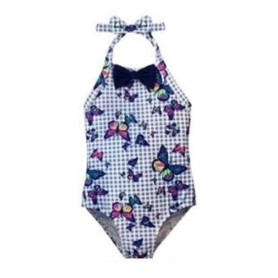 Toddler One Piece Butterflies K655-T