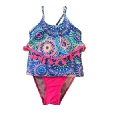 Girl's Fuchsia Two Piece K677-4
