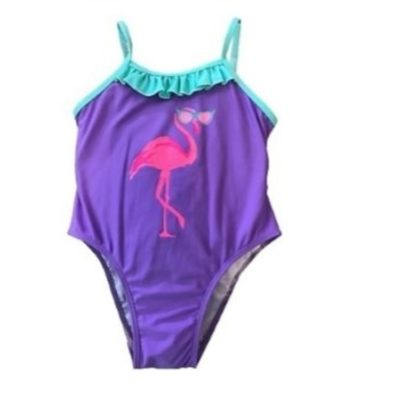 Girl's Flamingo One Piece Swim Suit K680-4