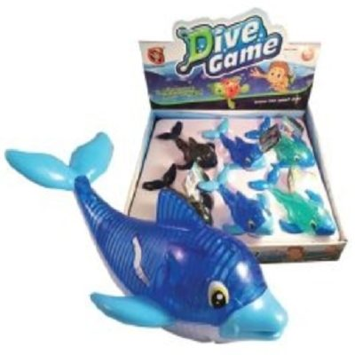 "6"" Dive Light Up Dolphin"