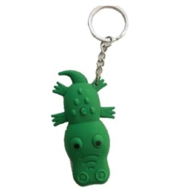 Alligator Key Chain with Light and Sound