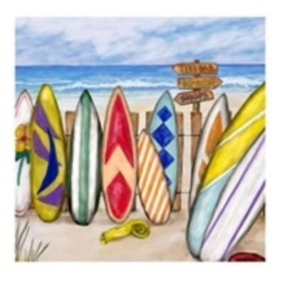 Surf Boards Canvas Art