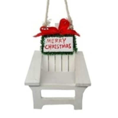 "36/3"" Beach Chair Ornament"