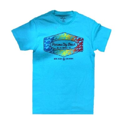 Blue Panama City Beach 19 . FLORIDA . 20 Adult Tee